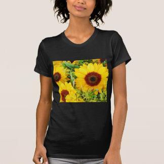 Yellow sunflowers print T-Shirt