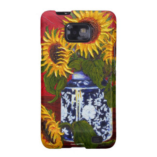 Yellow Sunflowers Samsung Galexy Case Samsung Galaxy SII Covers