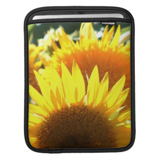 Yellow Sunflowers Sleeves For iPads