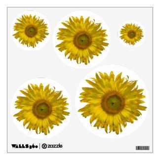 Yellow Sunflowers Wall Decal