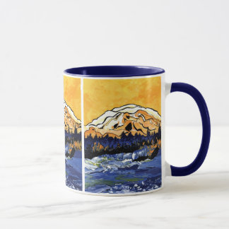 Yellow Sunset Mug