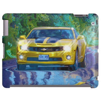 Yellow Superfast Sports Car Device Case