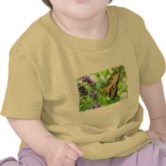 Yellow Swallowtail Butterfly Baby T-Shirt