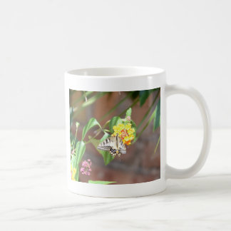 Yellow Swallowtail Butterfly Coffee Mug