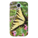 Yellow Swallowtail Butterfly in Summer Garden Galaxy S4 Cover