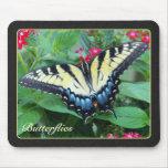 Yellow Swallowtail Butterfly Mousepad