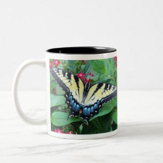 Yellow Swallowtail Butterfly Mug