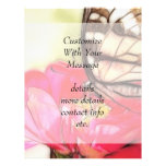Yellow Swallowtail butterfly on a Zinnia Personalized Flyer