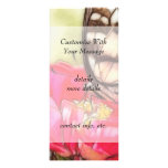 Yellow Swallowtail butterfly on a Zinnia Personalized Rack Card