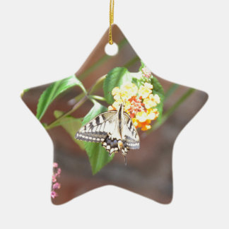 Yellow Swallowtail Butterfly Ornament