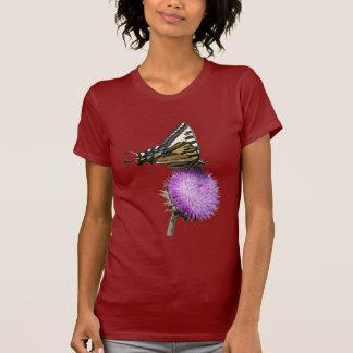 yellow swallowtail butterfly tee shirt