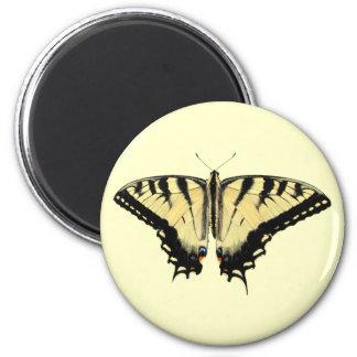 Yellow Swallowtail ~ magnet