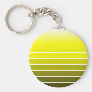 yellow swatch keychain