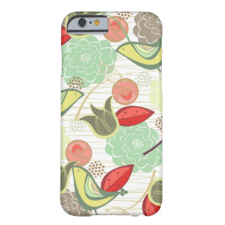 Yellow Sweet Birds Floral Garden Chic iPhone Case
