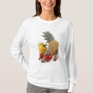 Yellow sweet pepper, tomato, pineapple, T-Shirt