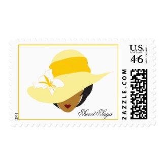 Yellow Hat Sweet Suga Stamp