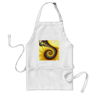 Yellow Swirl Apron