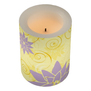 Lotus Flower Candles Candle Holders Zazzle