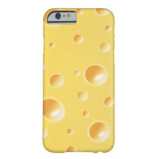 Yellow Swiss Cheese Slice Texture iPhone 6 case