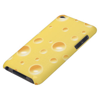 Yellow Swiss Cheese Texture iPod Touch Cover