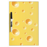 Yellow Swiss Cheese Texture Dry-Erase Whiteboards