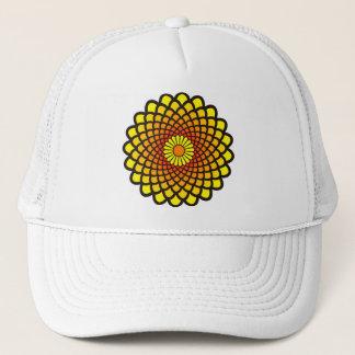 Yellow Symmetry Trucker Hat