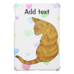 Yellow tabby cat (yellow eyes) case for the iPad mini