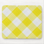 yellow table cloth mouse pad