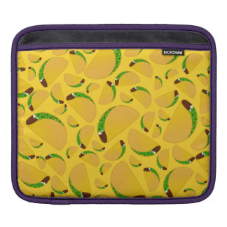 Yellow tacos sleeves for iPads