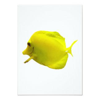 Yellow Tang Card
