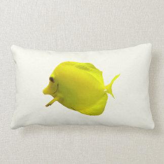 Yellow Tang Lumbar Pillow