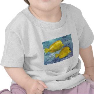 Yellow Tangs Tee Shirt