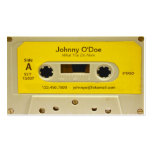 Yellow Tape Business Cards