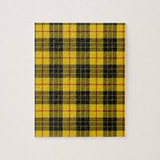 Yellow tartan puzzles