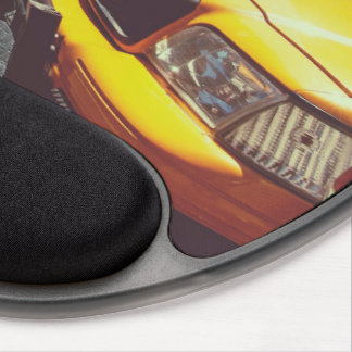 Yellow taxi 01 gel mouse pads