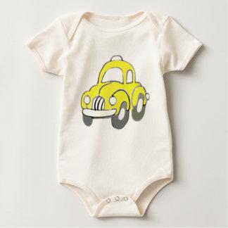 yellow taxi baby bodysuit