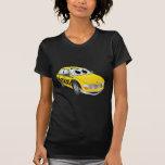 Yellow Taxi Cab Cartoon Shirts