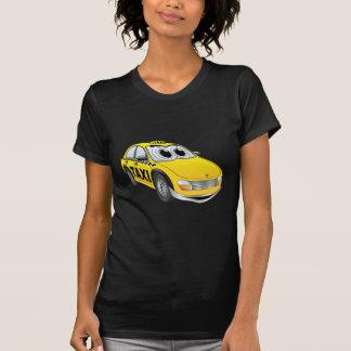 Yellow Taxi Cab Cartoon T-Shirt
