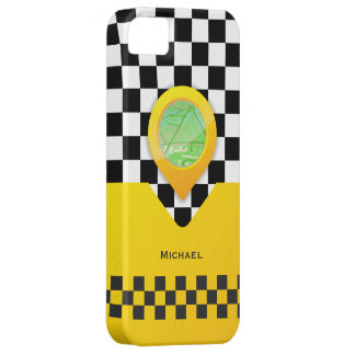 Yellow Taxi Cab Driver Service Bussines iPhone SE/5/5s Case