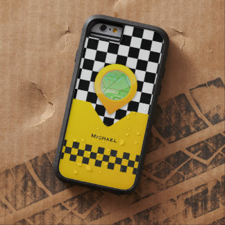 Yellow Taxi Cab Driver Service Bussines Tough Xtreme iPhone 6 Case