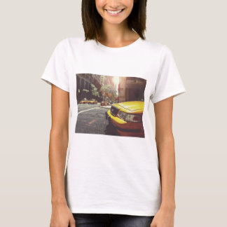 Yellow Taxi Cab of New York City T-Shirt