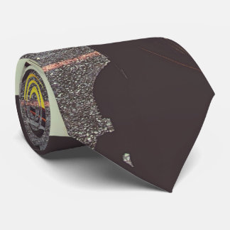 yellow taxi cabs service neck tie