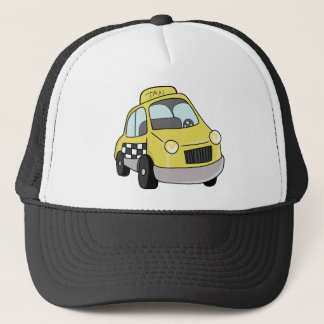 Yellow Taxicab Trucker Hat