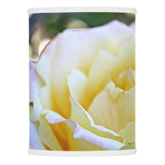 Yellow Tea Rose Lamp Shade