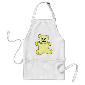 Yellow Teddy Adult Apron