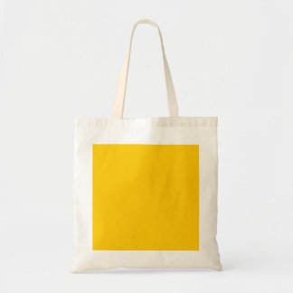 Yellow Template Budget Tote Bag