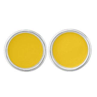 Yellow Template Cufflinks