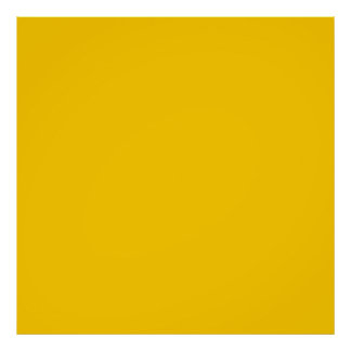 Yellow Template Poster