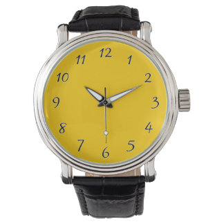 Yellow Template Watches