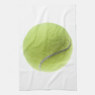Yellow Tennis Ball Customized Template Hand Towels